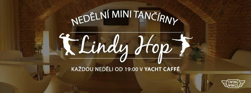 Nedělní mini tančírny – Lindy Hop v Yacht Café!