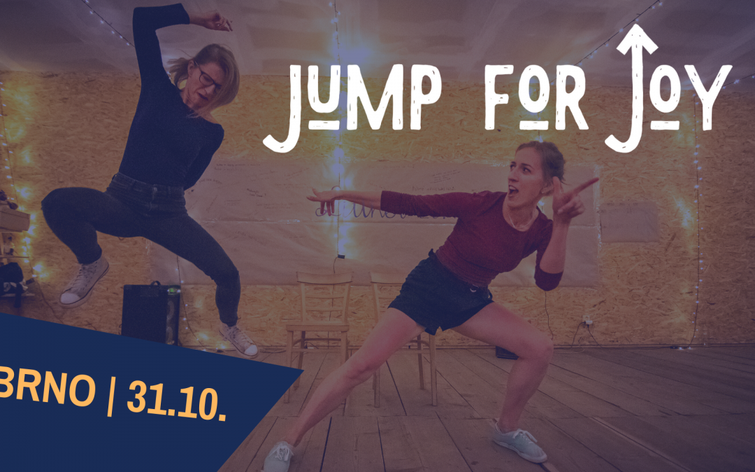 Jump For Joy pomáhá potřebným!