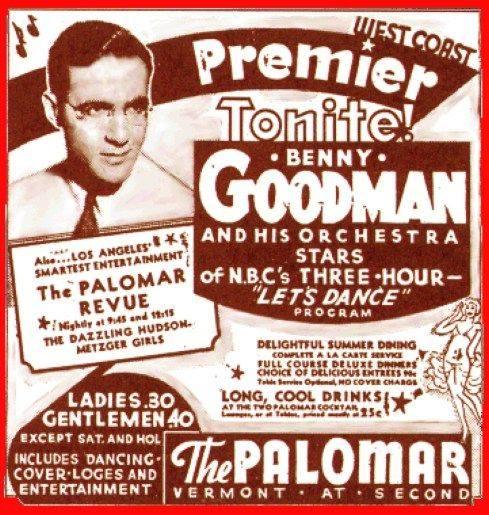 Benny Goodman History Talk s Markem